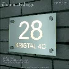 light up address sign light up address sign atech me