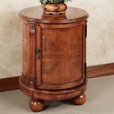 eldred round chairside accent storage chest