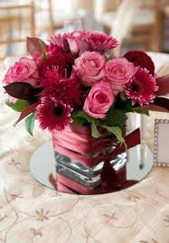 Burgundy Wedding Centerpieces by Burgundy And Pink Centerpieces Google Search Tablescapes