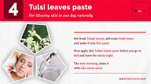Tree Care Tips To Make by 5 Tips For Skin Glow In One Day With Natural Ayurvedic Home