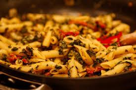 spinach and sun dried tomato pasta gentile s market