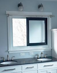 Master Bathroom Mirrors by Remodelaholic Master Bathroom Renovation With Sliding Mirror