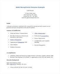 Medical Assistant Receptionist Resume Sample Resume For Medical Receptionist With No Experience Sample