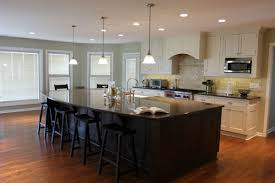 Small Kitchen Island With Seating by Kitchen Room 2017 Kitchen Dark Cabinets Light Granite And