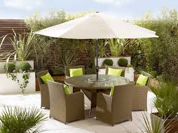 Wood Patio Dining Table by Exterior Design Exciting Striped Walmart Umbrella With Wicker