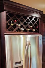 Kitchen Cabinet Wine Rack Ideas Kraftmaid Wine Rack Dimensions Built In Wine Rack Dimensions