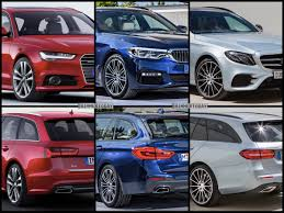 bmw 5 series touring vs mercedes benz e class estate vs audi a6 avant