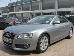 audi a5 coupe used used audi a5 car 2009 grey petrol 2 0t fsi 180 2 door coupe for