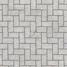 stone paving outdoor herringbone texture seamless 06553