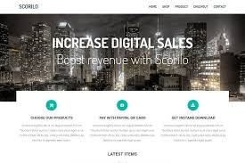 scorilo free html bootstrap ecommerce template