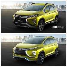 mitsubishi terbaru 2017 production mitsubishi xm mpv rendered