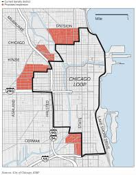 Chicago City Map by Mayor Plans To Fund Investment In City Neighborhoods By Expanding