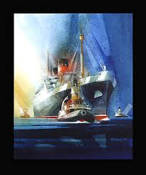 Nautical Painting Stoltenberg Nautical Paintings Collection On Ebay