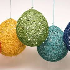 yarn glue balloons all you need to craft ornaments for
