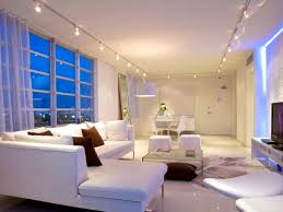 creative parallel low ceiling lights for modern living room with