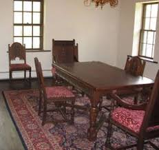 Carved Dining Table And Chairs 1920 S Trogdon Furniture Company Beautifully Carved Dining Room