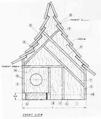 free bird house plans bird house plan free project plans from