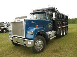 mack dump truck 1986 mack rw 713 tri axle dump truck