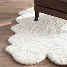 Fur Area Rug Faux Fur Rugs You Ll Wayfair