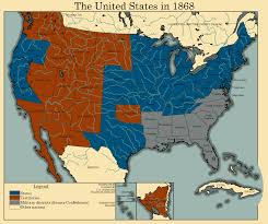 States In United States Map by The United States In 1868 By Thearesproject On Deviantart