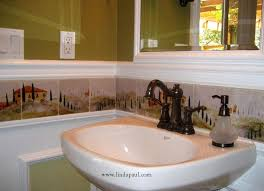 backsplash tile ideas for bathroom tuscan tile murals kitchen backsplashes tuscany tiles small
