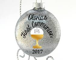 communion christmas ornament catholic ornament etsy