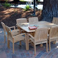 patio square table set tropez table u0026 tenafly stacking chair
