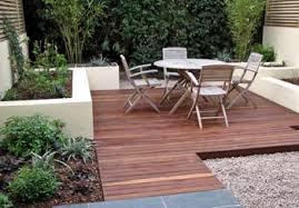 Small Urban Garden - small back garden decking ideas beautiful lay down a perpetually
