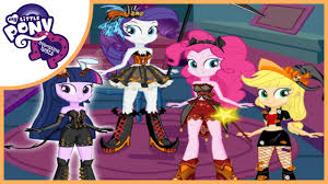 Pony Halloween Costume Girls Pony Equestria Girls Halloween Makeover Dress Game