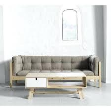 canapé bois flotté canape en bois karup sofa fusion canape en bois flotte
