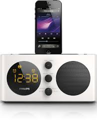 alarm clock radio for ipod iphone aj6200d 98 philips