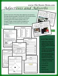 adverb lessons adjectives and adverbs grammar bundle adverbs worksheets and