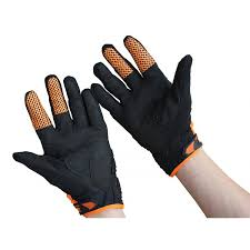 fox motocross gloves racing bomber orange race mx bicycle gloves