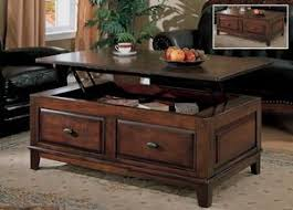 Lift Top Coffee Tables Larchmont Lift Top Table With Storage By Ashley 425 Coffee