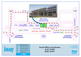 Dubai India Map by Knauf Dubai Contact Us