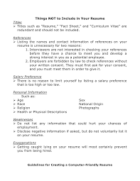 what information do you put in a cover letter 5 to on for resume i