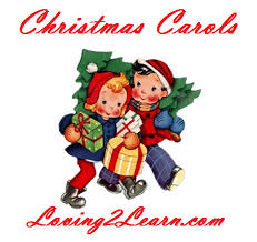 christmas carols printable lyrics and sing along videos