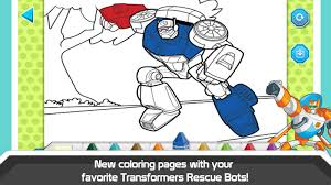 printable coloring pages transformer rescue bots coloring pages
