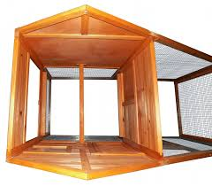 Best Rabbit Hutches Amazon Com Merax Chicken Coop Wooden House Cage For Small