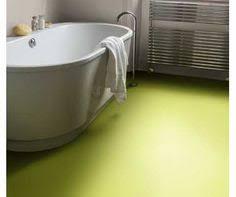 bright green vinyl flooring playroom mid century house