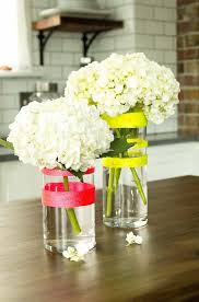 Striped Vase 10 Diy Vases That Give Flowers A Cozy And Fun Home