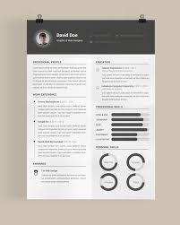 30 free u0026 beautiful resume templates to download cv pinterest