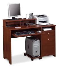 Computer Desk Brown Bestar Legend Collection Tuscany Brown Computer Desk 56400 63