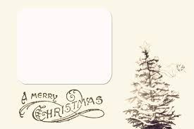 printable christmas card templates u2013 happy holidays