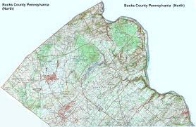 Road Map Of Pennsylvania by Bucks County Pennsylvania Township Maps