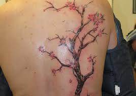 cherry blossom tree bird meaning for
