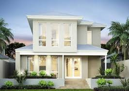 Modern Two Storey House With Streamline Roof by 2 Storey Home Designs Perth New Level Homes