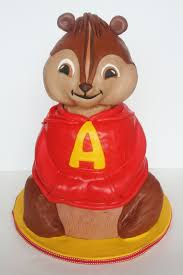 alvin and the chipmunks cake toppers and everything sweet alvin the cake