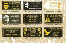 Famosos Placas Para Cemiterio - Curitiba, Pr - Zip Anúncios &MS67