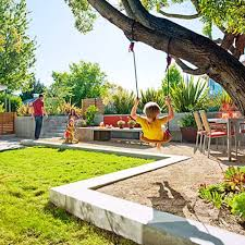 Outdoor Furniture Small Space Outdoor Living Kids Outdoor Plays Area For Small Space Ideas